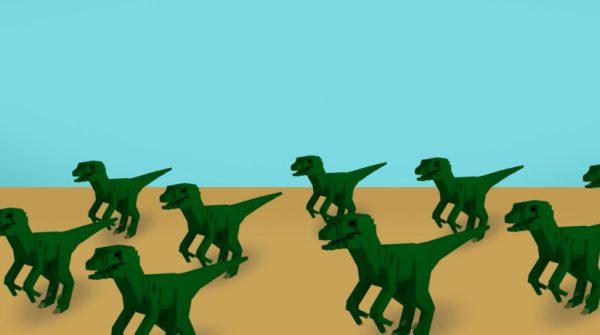 Desare Cruz, Dance of the Dinosaurs.