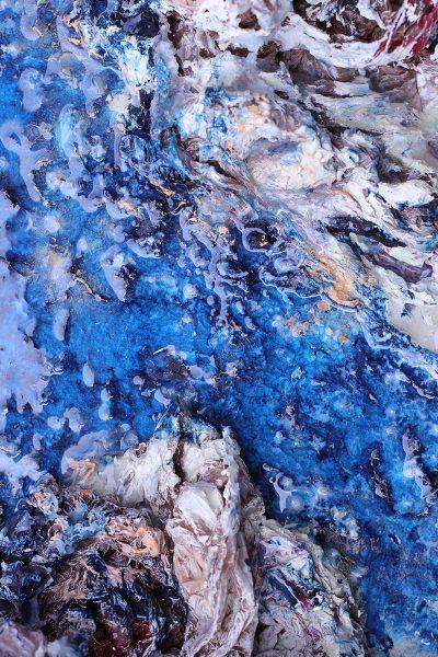 Rowan Lyford. Artificial River, detail.