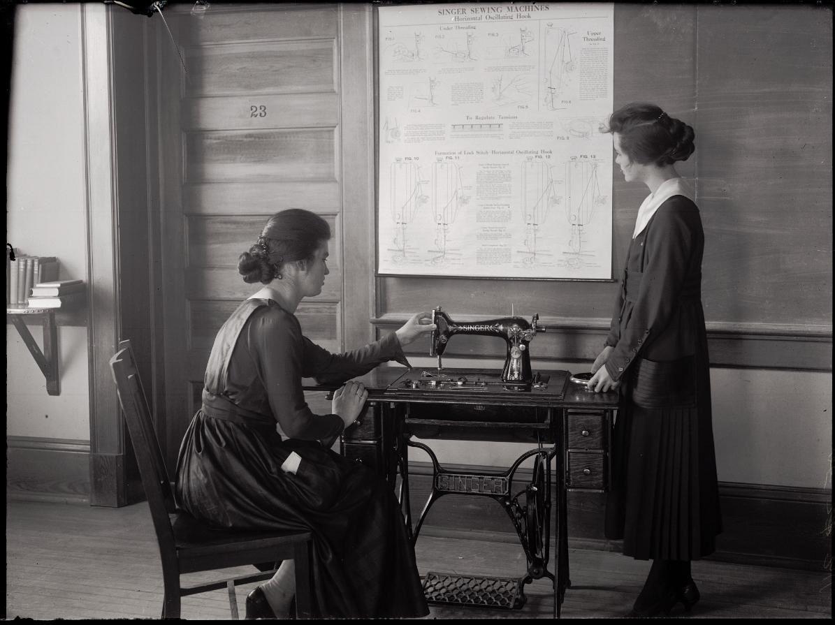 sewing oldschool