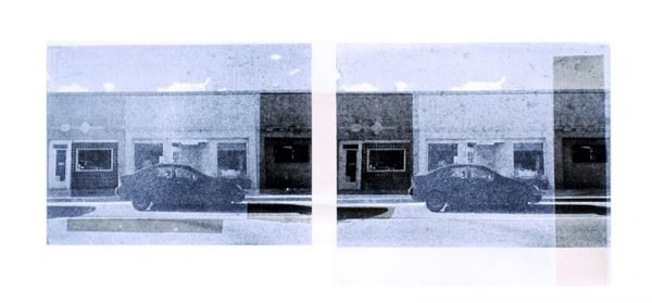 Mason Cessna_Printmaking_Truth or Consequence_[Photo-Lithography with Chine Collé (10in x 24in]